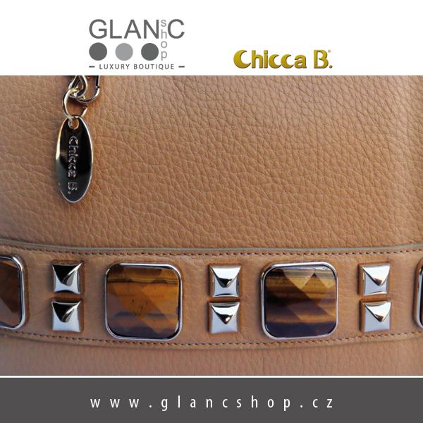 b05bedefe47 dámské kožené kabelky značky CHICCA B s pravými kameny